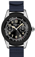 Montblanc Summit Smartwatch - Bi-Color Steel Case With Navy Blue Rubber Strap 117546