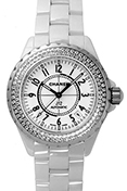 Chanel J12 White Diamonds H0969