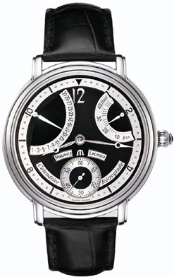 Maurice Lacroix Style #: mp7068-ss001-390. Masterpiece Calendrier Retrograde МУЖСКИЕ. Swiss Made.